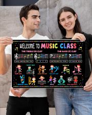 Music Poster - Welcome To Music Class 24x16 Poster poster-landscape-24x16-lifestyle-21