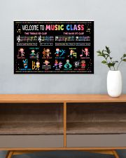 Music Poster - Welcome To Music Class 24x16 Poster poster-landscape-24x16-lifestyle-25