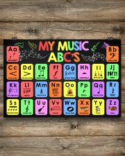Music - My Music ABC'S - Music instruments 24x16 Poster aos-poster-landscape-24x16-lifestyle-15