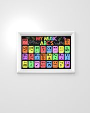 Music - My Music ABC'S - Music instruments 24x16 Poster poster-landscape-24x16-lifestyle-02