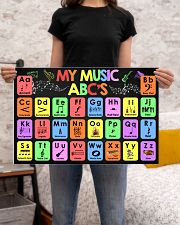 Music - My Music ABC'S - Music instruments 24x16 Poster poster-landscape-24x16-lifestyle-20
