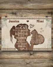 Cat - You are my sanity - My best friend 24x16 Poster aos-poster-landscape-24x16-lifestyle-15