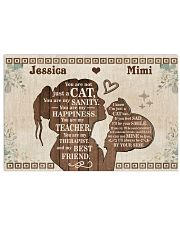 Cat - You are my sanity - My best friend 24x16 Poster front