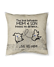 """QUEBEC NB THE LOVE BETWEEN MOM AND SON Indoor Pillow - 16"""" x 16"""" thumbnail"""