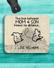 QUEBEC NB THE LOVE BETWEEN MOM AND SON Mousepad aos-mousepad-front-lifestyle-5