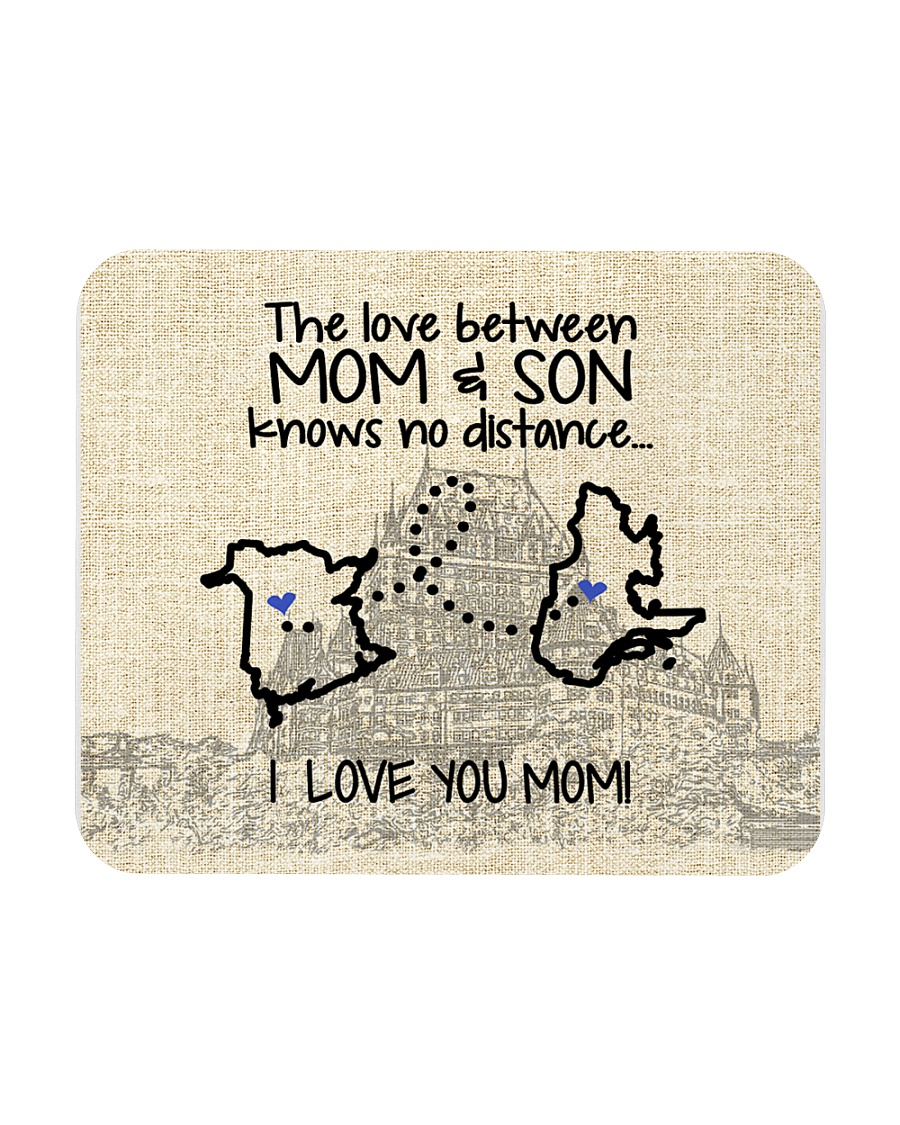 QUEBEC NB THE LOVE BETWEEN MOM AND SON Mousepad