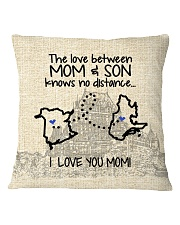 QUEBEC NB THE LOVE BETWEEN MOM AND SON Square Pillowcase thumbnail