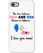 PUERTO RICO ILLINOIS LOVE BETWEEN MOTHER SON Phone Case thumbnail