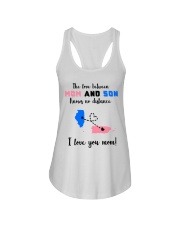 PUERTO RICO ILLINOIS LOVE BETWEEN MOTHER SON Ladies Flowy Tank tile