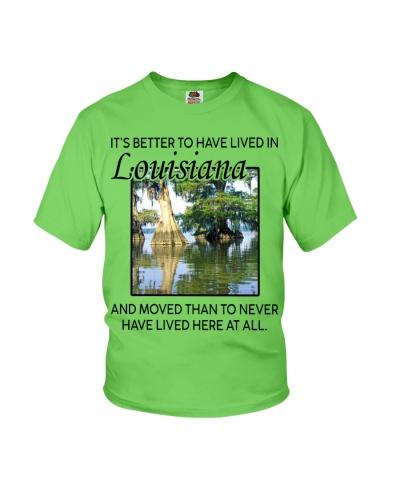 LIVED IN LOUISIANA