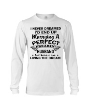 MARRYING A PERFECT FREAKING HUSBAND Long Sleeve Tee thumbnail