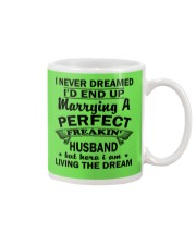 MARRYING A PERFECT FREAKING HUSBAND Mug front