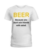BEER WIN FRIENDS Ladies T-Shirt thumbnail