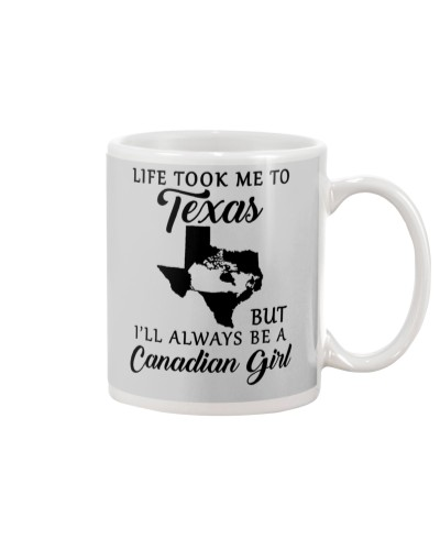 LIFE TOOK ME TO TX BUT ALWAYS BE A CANADIAN GIRL