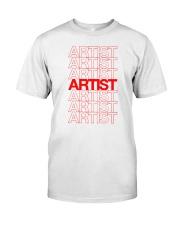 Artist - Thank You Classic T-Shirt thumbnail