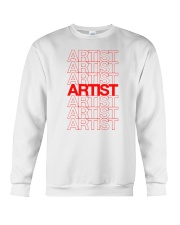 Artist - Thank You Crewneck Sweatshirt front