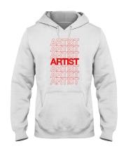 Artist - Thank You Hooded Sweatshirt thumbnail