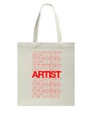 Artist - Thank You Tote Bag thumbnail
