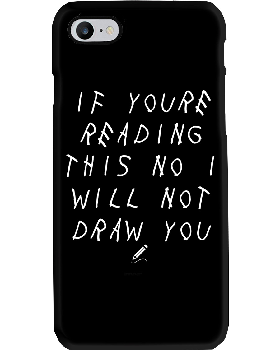 White - If You're Reading This  Phone Case