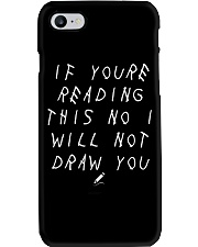 White - If You're Reading This  Phone Case i-phone-7-case