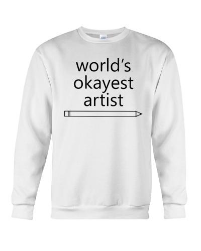 World's Okayest Artist - Simple Black