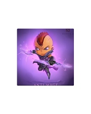 Dota 2 Hero Anti-Mage style cartoon Square Magnet thumbnail