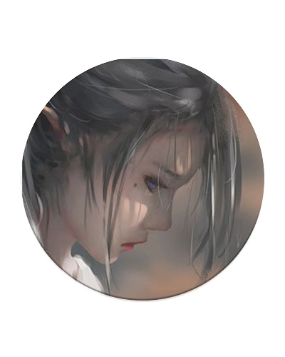 Graphic art Ghostblade girl