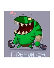 Dota 2 Leviathan the Tidehunter style cartoon Square Coaster thumbnail