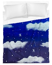 Blue sky misty clouds Duvet Cover - Twin XL thumbnail