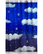 Blue sky misty clouds Window Curtain - Sheer thumbnail