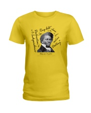 Frederick Douglass: Ringbolt Ladies T-Shirt front
