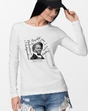 Frederick Douglass: Ringbolt Long Sleeve Tee lifestyle-unisex-longsleeve-front-4