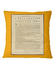 Frederick Douglass: Ringbolt Square Pillowcase back