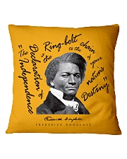 Frederick Douglass: Ringbolt Square Pillowcase front