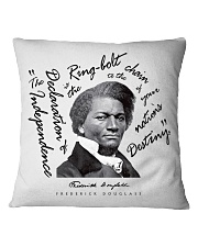 Frederick Douglass: Ringbolt Square Pillowcase tile