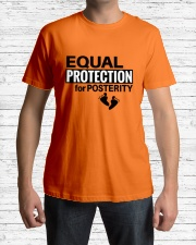 Equal Protection for Posterity: A baby is a person Classic T-Shirt lifestyle-mens-crewneck-front-1