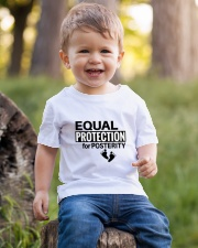 Equal Protection for Posterity: A baby is a person Youth T-Shirt lifestyle-youth-tshirt-front-4