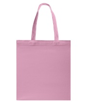 Love Life: footprint Tote Bag back