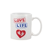 Love Life: footprint Mug tile