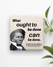 Frederick Douglass: What ought to be done Square Magnet aos-magnets-square-front-lifestyle-4