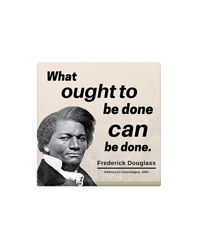 Frederick Douglass: What ought to be done