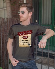 We the People--not We the Supreme Court Classic T-Shirt lifestyle-mens-crewneck-front-2