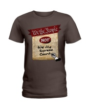We the People--not We the Supreme Court Ladies T-Shirt front