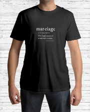 Marriage is Classic T-Shirt lifestyle-mens-crewneck-front-1