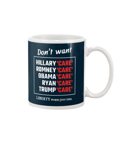 Don't want Hillary 'Care'