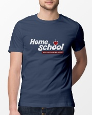 HOME SCHOOL: YOU CAN'T AFFORD NOT TO Classic T-Shirt lifestyle-mens-crewneck-front-13