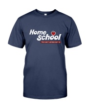 HOME SCHOOL: YOU CAN'T AFFORD NOT TO Premium Fit Mens Tee tile