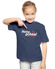 HOME SCHOOL: YOU CAN'T AFFORD NOT TO Youth T-Shirt lifestyle-youth-tshirt-front-2