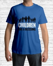 Children are a blessing Classic T-Shirt lifestyle-mens-crewneck-front-1