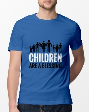 Children are a blessing Classic T-Shirt lifestyle-mens-crewneck-front-13